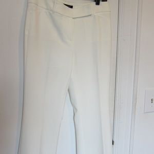 White/Black Trouser White Pants